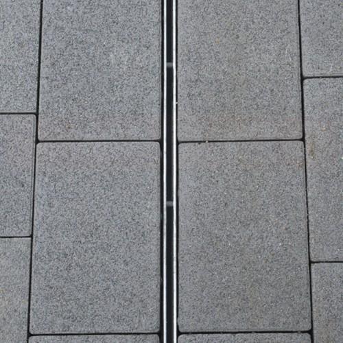 Rigolă ACO Self Hexaline 2.0 din polipropilenă, grătar fantă din oțel zincat, lungime 100 cm