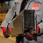 Rigolă ACO Self Highline din oțel zincat, cu grătar din oțel zincat, lungime 500mm, înălțime 50mm