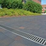 Rigolă ACO Self Euroline din beton cu polimeri, cu grătar din fontă, lungime 50 cm, cod 38707