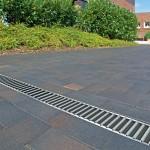 Set 6 rigole cu accesorii ACO Self Euroline din beton cu polimeri, cu grătar din oțel zincat, lungime 100 cm, cod S38700-4