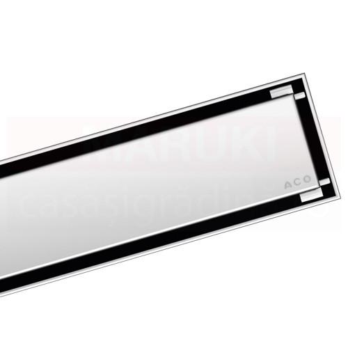 Rigolă de duș ACO ShowerDrain C cu flanșă orizontală, grătar Massive, lungime 585mm