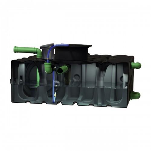 Sistem modular de stocare a apei de ploaie Rain4me Garden Basic, bazin vertical 2000 litri, cod 103600