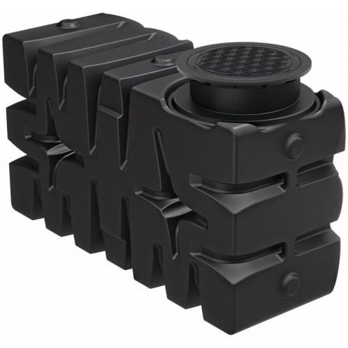 Sistem modular de stocare a apei de ploaie Rain4me Garden Basic, bazin vertical 2000 litri